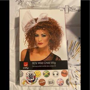Brand new 80's wig.
